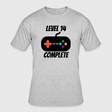 Level 14 Complete 14th Birthday - Men's 50/50 T-Shirt