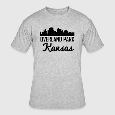 Overland Park Kansas Skyline - Men's 50/50 T-Shirt