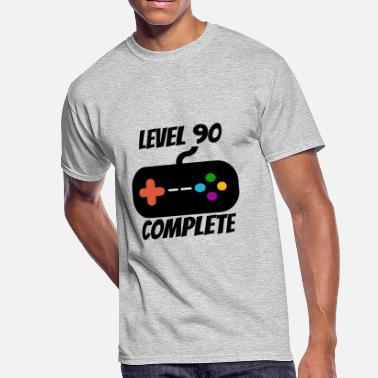90s Designs Level 90 Complete 90th Birthday