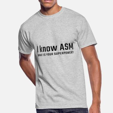 Assembly I know ASM - Men's 50/50 T-Shirt