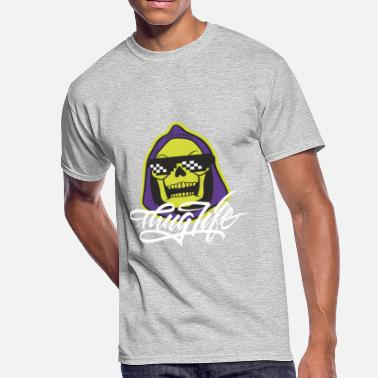 Thug Fuck You Skeletor Thug Life - Men's 50/50 T-Shirt
