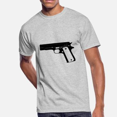 1911 M1911 .45 ACP Handgun - Men's 50/50 T-Shirt