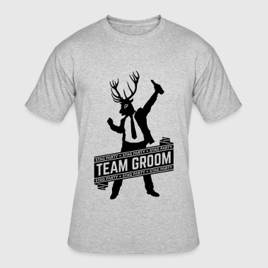 Team Groom / Stag Party (1C) - Men's 50/50 T-Shirt