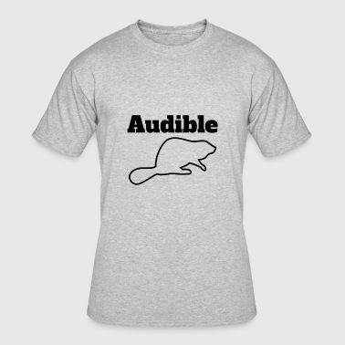 Audible Audible Beaver BTLS Radio - Men's 50/50 T-Shirt