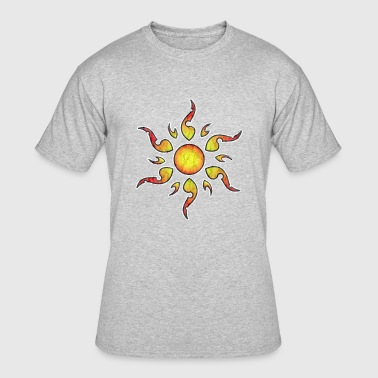 Sun Tattoo Old School tattoo Sun grunge - Men's 50/50 T-Shirt