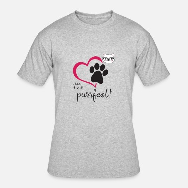 Purrfect It's Purrfect - Men's 50/50 T-Shirt