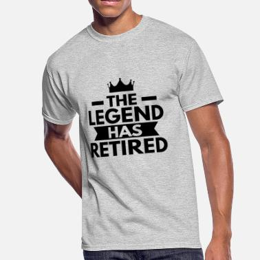 The Legend Has Retired The Legend Has Retired - Men's 50/50 T-Shirt