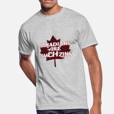 Canadian Humour Canadians Are AmEHzing - Men's 50/50 T-Shirt