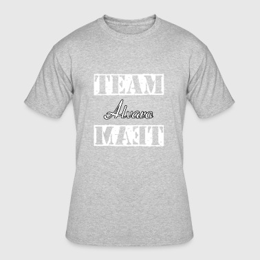 Team Alvaro - Men's 50/50 T-Shirt