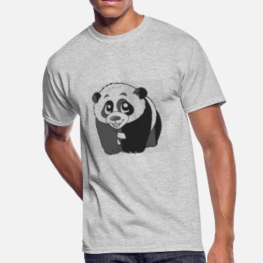 Giant Slalom Giant panda - Men's 50/50 T-Shirt