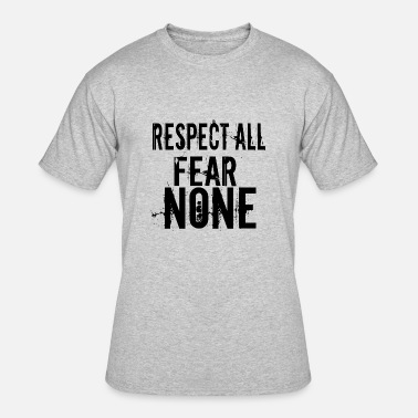 5482519b RESPECT ALL FEAR NONE Men's Premium T-Shirt | Spreadshirt