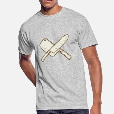 Knife Ax ax and knife - Men's 50/50 T-Shirt
