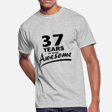 Years Of Awesome 37 Years of being AWESOME - Men's 50/50 T-Shirt
