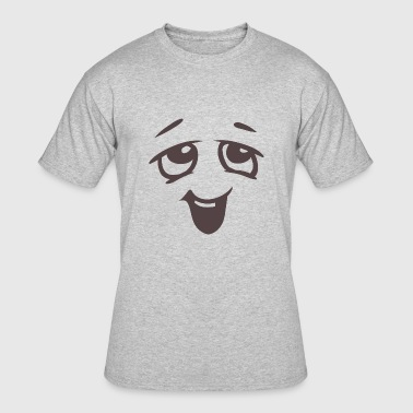 Relaxed face - Emotional face - Men's 50/50 T-Shirt