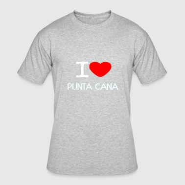 I LOVE PUNTA CANA - Men's 50/50 T-Shirt