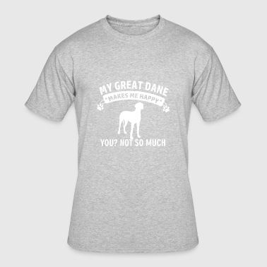 Great Dane Gear Funny Great Dane designs - Men's 50/50 T-Shirt