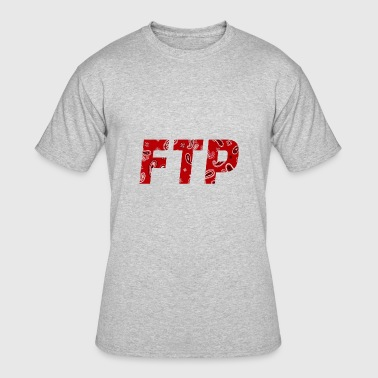 Ftp FTP Red Paisley - Men's 50/50 T-Shirt