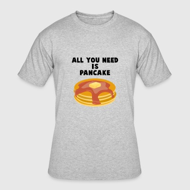 Pancake Is all you need black - Men's 50/50 T-Shirt
