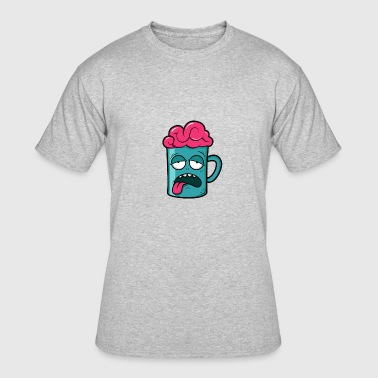 Cup with Brain - Men's 50/50 T-Shirt