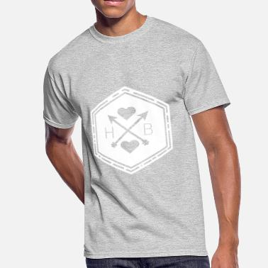 Cool white hb - Men's 50/50 T-Shirt