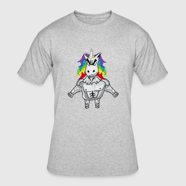 Gym Unicorn - Men's 50/50 T-Shirt