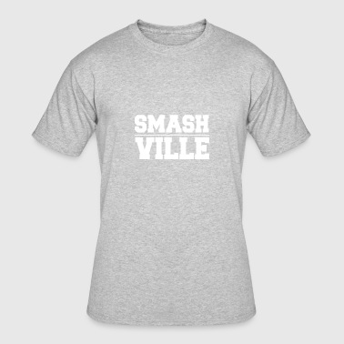The Ville Smash Ville - Men's 50/50 T-Shirt