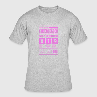 Cute And Funny Cheerleading Cheerleader - Men's 50/50 T-Shirt