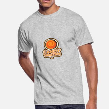 Candy Sweets Sweet Candy Lollipop Food Eating Gift Idea - Men's 50/50 T-Shirt