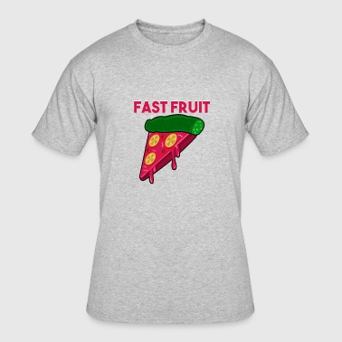 Fast Fruit Pizza Design - Men's 50/50 T-Shirt