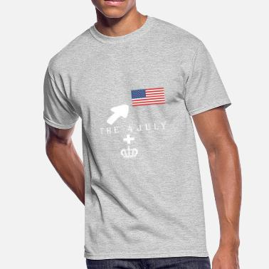 independence day - Men's 50/50 T-Shirt