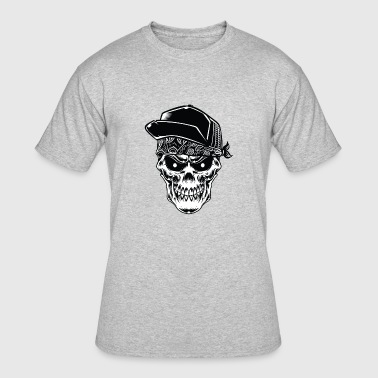 Hardcore Skull, Skull Gangster, hardcore for life - Men's 50/50 T-Shirt