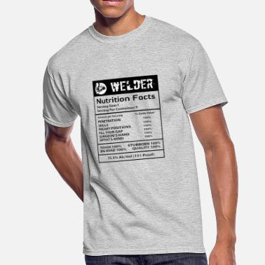 Black Nutrition Welder nutrition black - Men's 50/50 T-Shirt