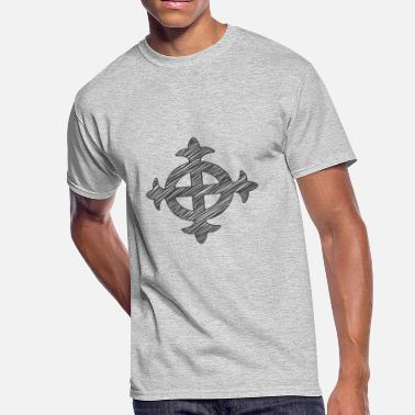 Celtic Classic Celtic Cross - Men's 50/50 T-Shirt