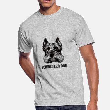 9da26fd8 Schnauzer Dad Schnauzer Dad - Men's 50/50 T-Shirt