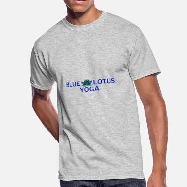 Sigrid Blue Lotus Yoga Studio - Men's 50/50 T-Shirt