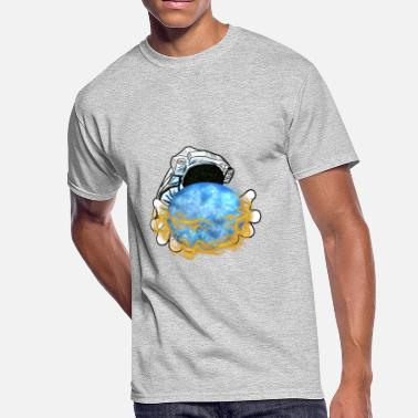 Milky Way astronaut space universe milky way - Men's 50/50 T-Shirt