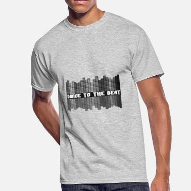 Dancing Beat Dance to the Beat - Men's 50/50 T-Shirt