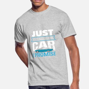 Womens Muscle Car Just One More Car I Promise - Men's 50/50 T-Shirt