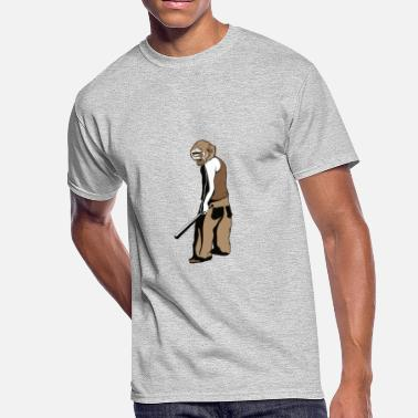Crazy Monkey crazy monkey - Men's 50/50 T-Shirt