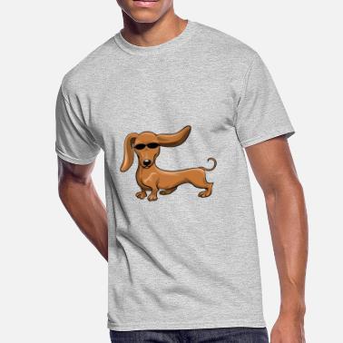 1939a8596 Dachshund shirts - Cute Dachshund emojis tshirt - Men's 50/50
