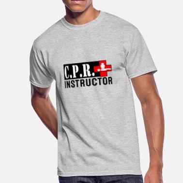 Scuba Instructor CPR INSTRUCTOR NEW FONT - Men's 50/50 T-Shirt