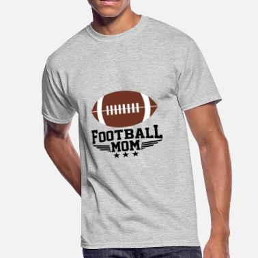 Football Player Moms Football Mom | Football Player | Outdoor Games - Men's 50/50 T-Shirt