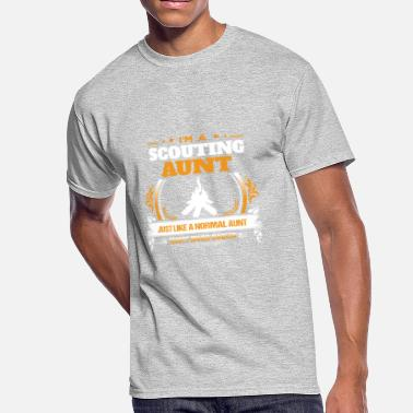 Scouting Scouting Aunt Shirt Gift Idea - Men's 50/50 T-Shirt