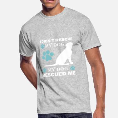 Dog Rescue rescue dog - Men's 50/50 T-Shirt