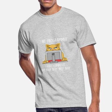 Beep Boop I are Programmer I make computer beep boop beep - Men's 50/50 T-Shirt