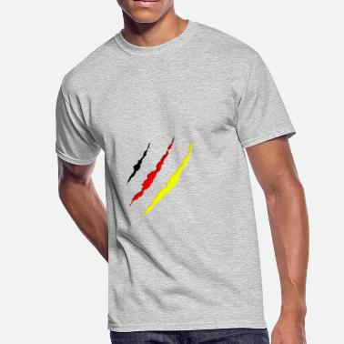 German Clothing German - under my clothes - Men's 50/50 T-Shirt