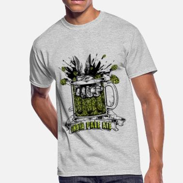 Ale India Pale Ale - extreme dry hopped craft beer - Men's 50/50 T-Shirt