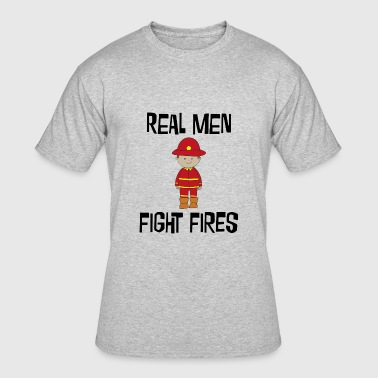 Boys Fire Fighter Fire Fighter - Men's 50/50 T-Shirt