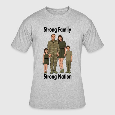 Army Strong Strong Nation: Army - Men's 50/50 T-Shirt