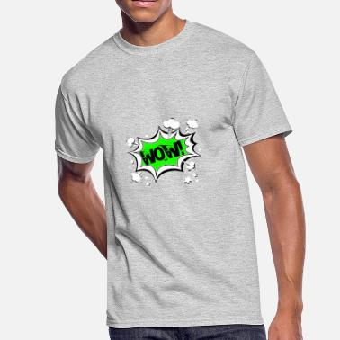 Comic Strips Wow Cartoon Comic Strips - Men's 50/50 T-Shirt